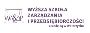 Logo Higher School of Management and Enterprise in Wałbrzych